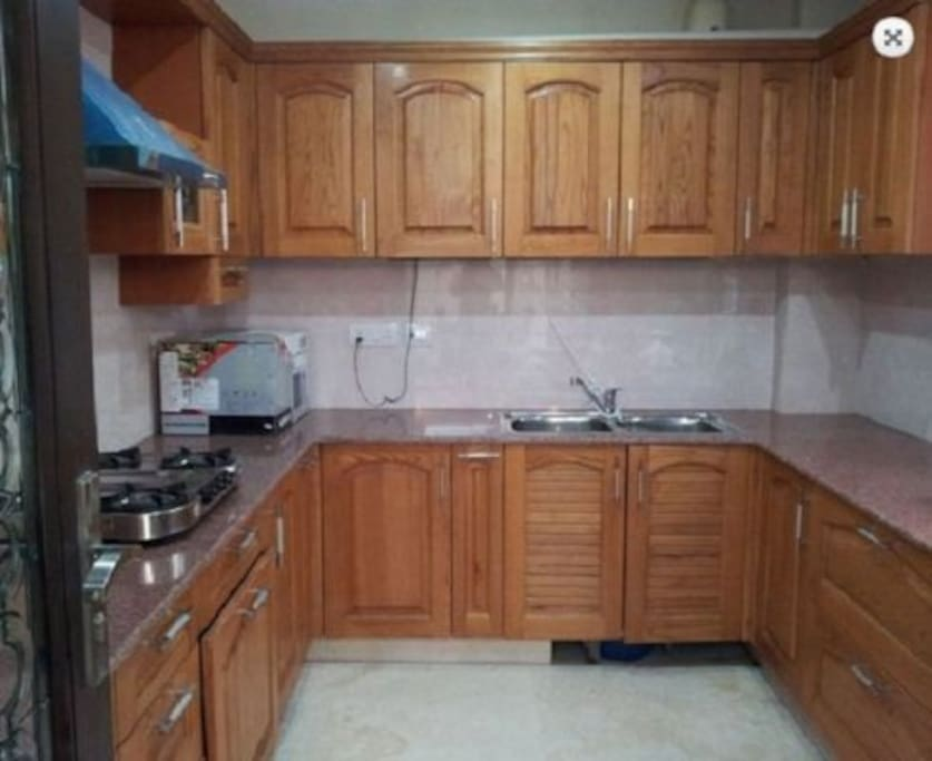 Fully loaded modular kitchen