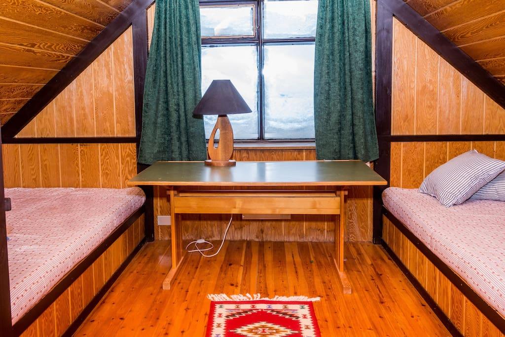 Bedroom - two 120 cm beds
