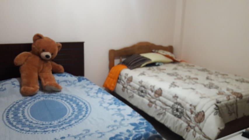 Un dormitorio amoblado ubicado en departamento