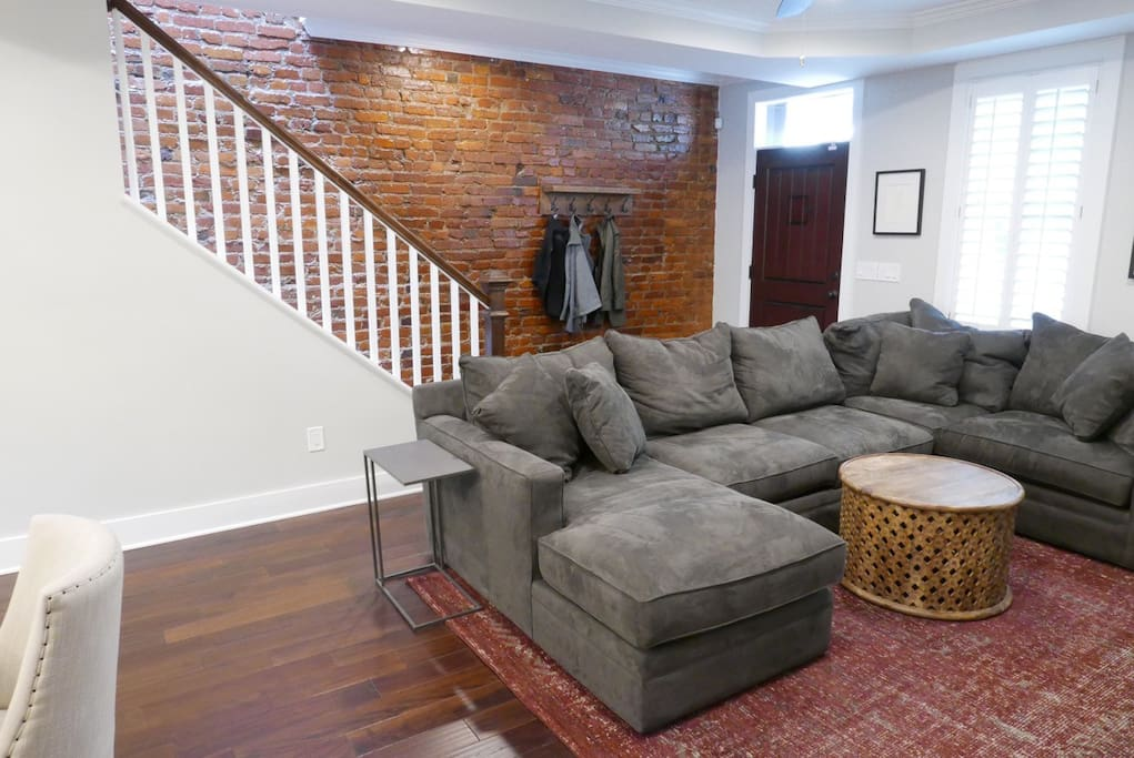 Couch pictured will be replaced with BRAND new sofa bed
