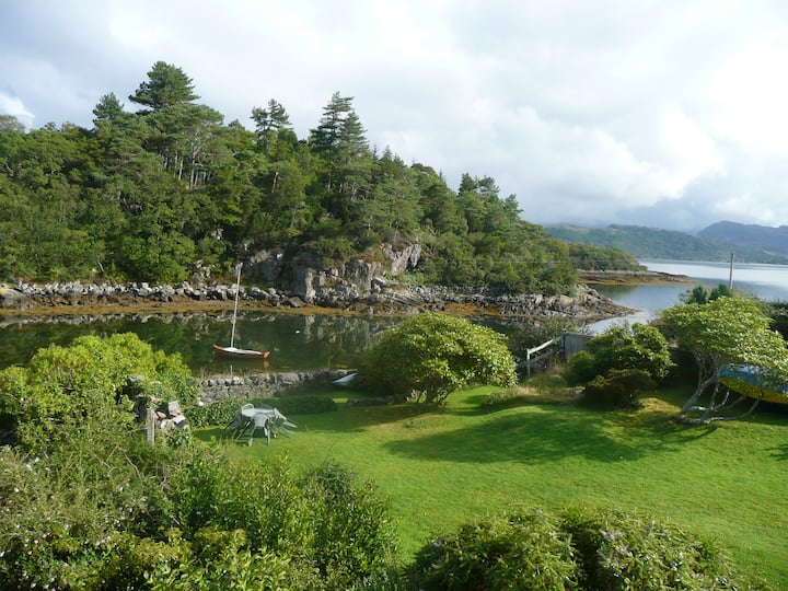 Waterfront cottage in Plockton