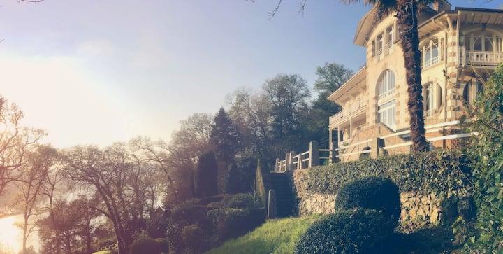 Chambre double, Villa Kerjannic, Morlaix