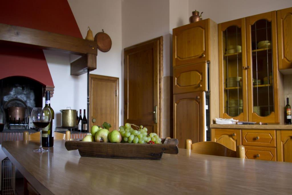 stanza cucina/ room kitchen