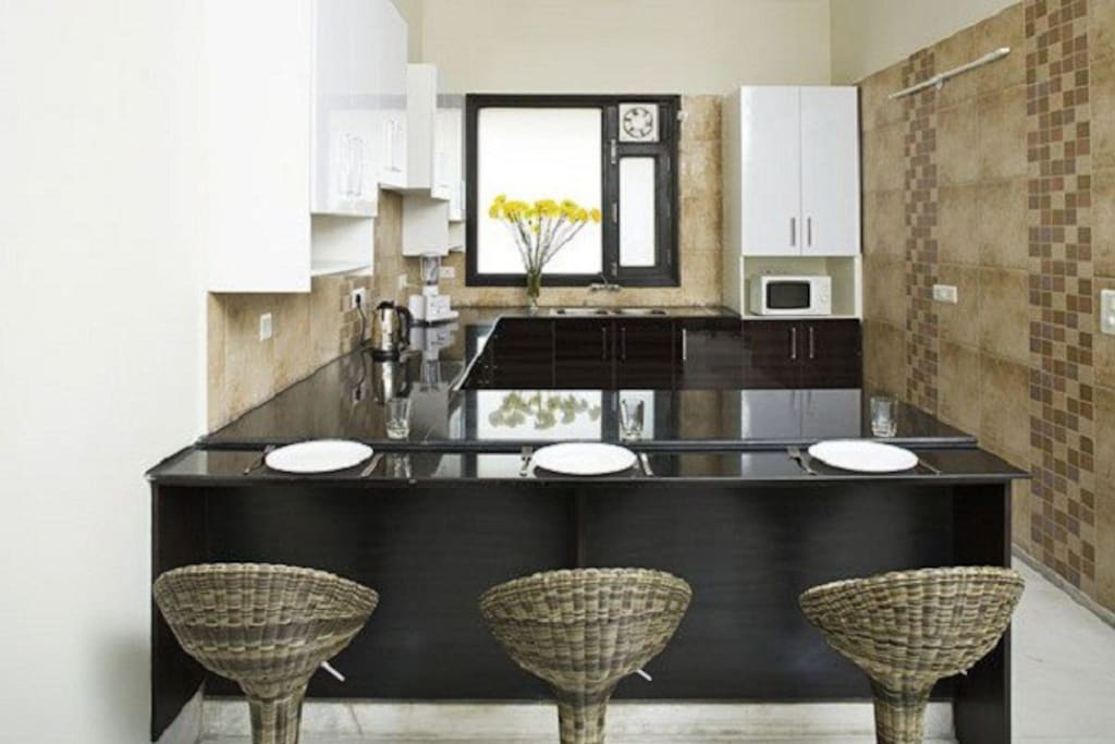 Fully Equipped Modular Kitchen