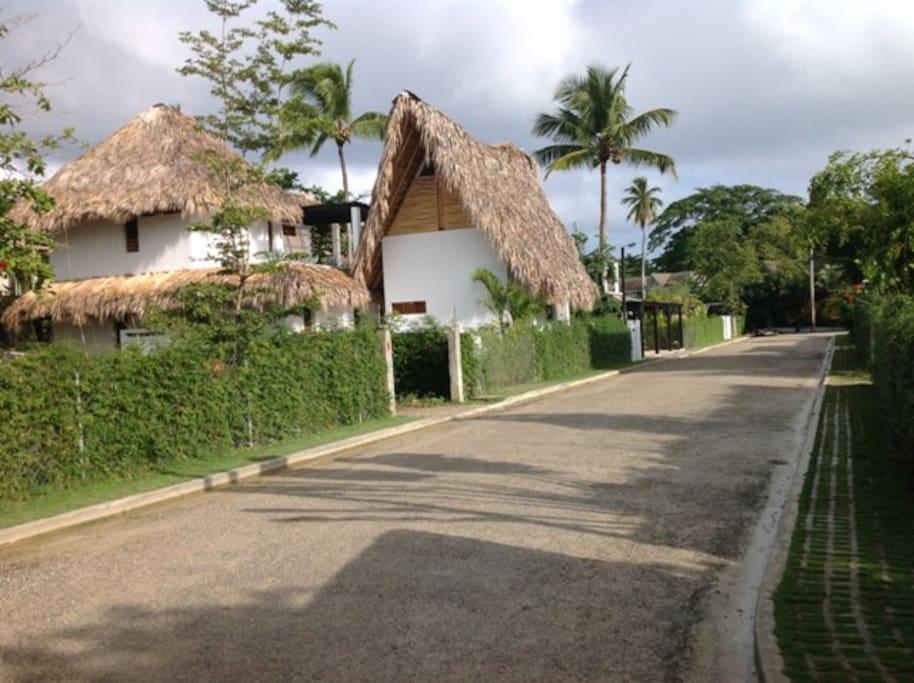 Accès résidence
