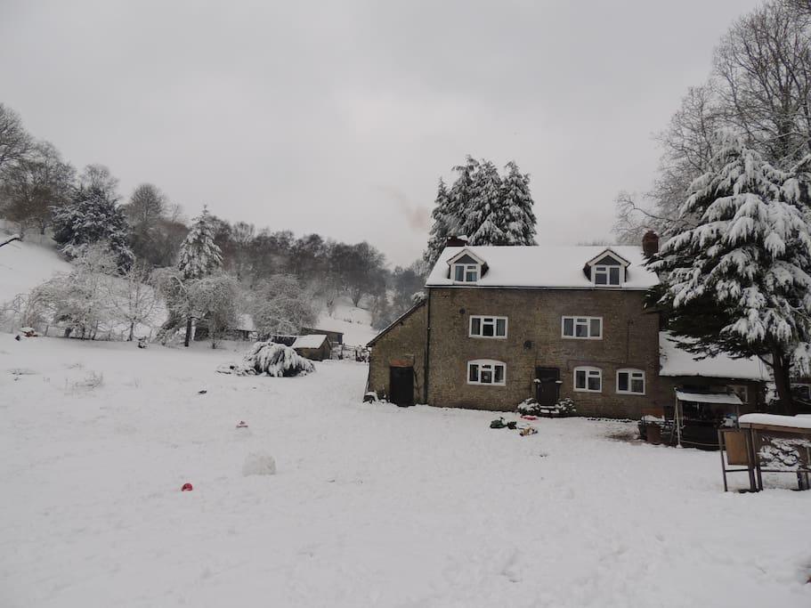 Winter 2012, then it happened again in 2017