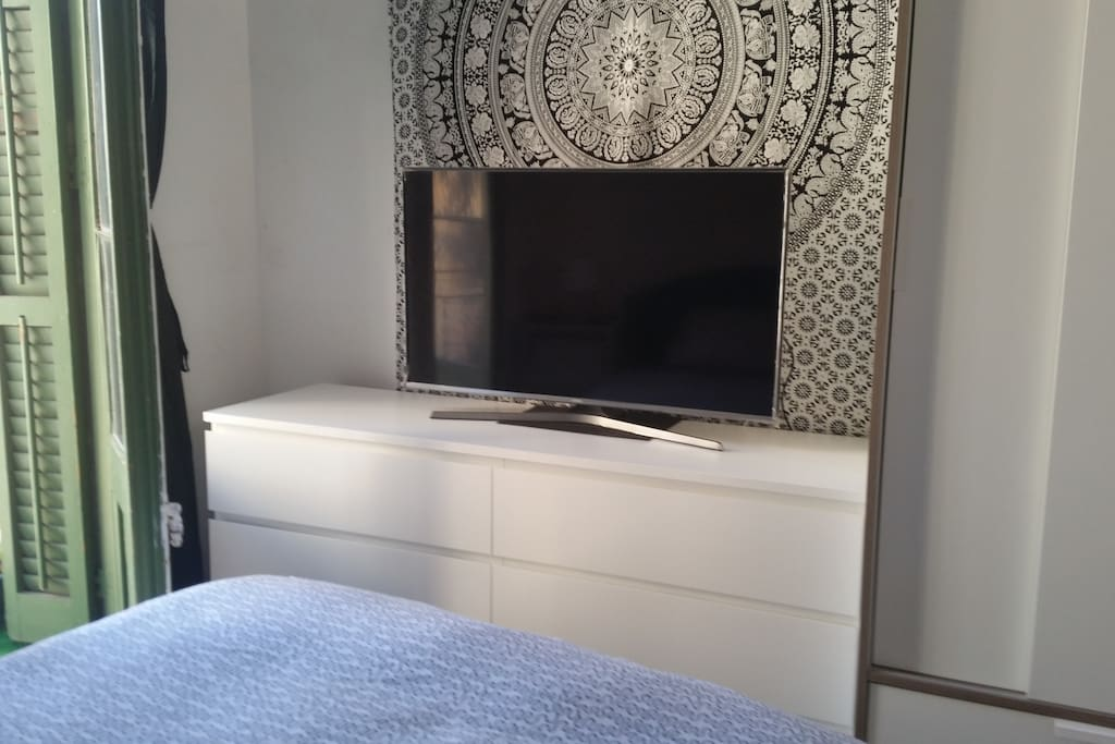 "TV 42"" in the double room"