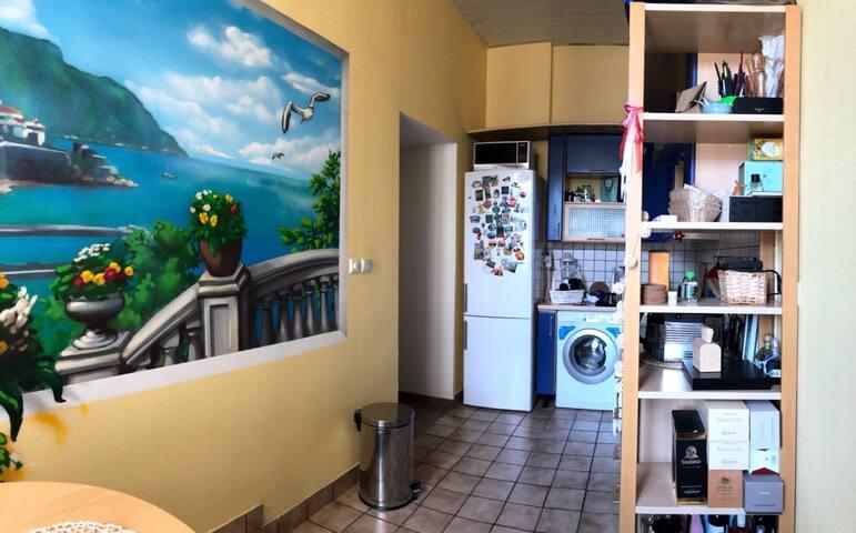 kitchen/обеденная зона/кухня