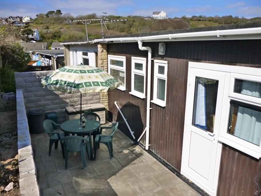 Sea Breeze rear patio