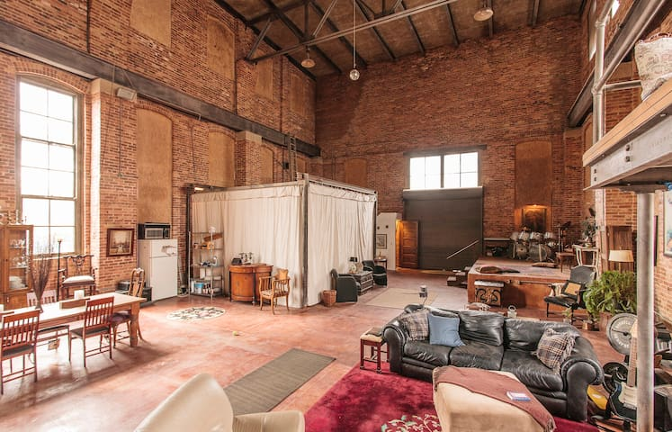 Historic Industrial Loft - Oak Park - Bed & Breakfast