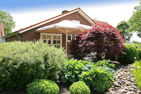 A holiday home in the countryside, on the edge of the Groote Peel National Park.