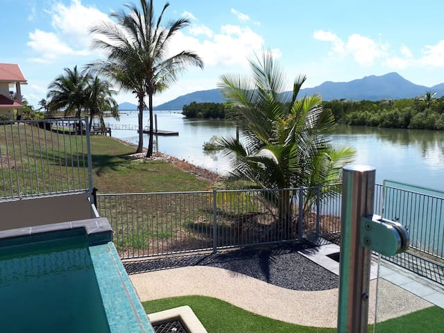 Anchora South Waterfront Villa with Pool and Dock