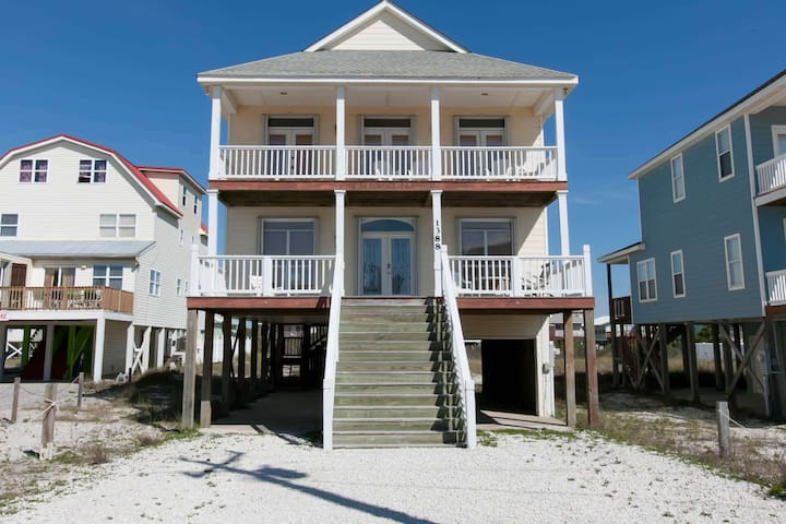 Good Winds - FREE GOLF, FISHING, DVD RENTALS, WATERVILLE AND ESCAPE ROOM TICKETS! - Gulf Shores - Huis