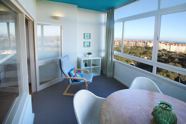 Studio Cascais- Panoramic sea view