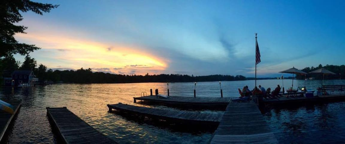 Lake Minocqua Suite w/ Dock & Kayak - Minocqua - Blockhütte