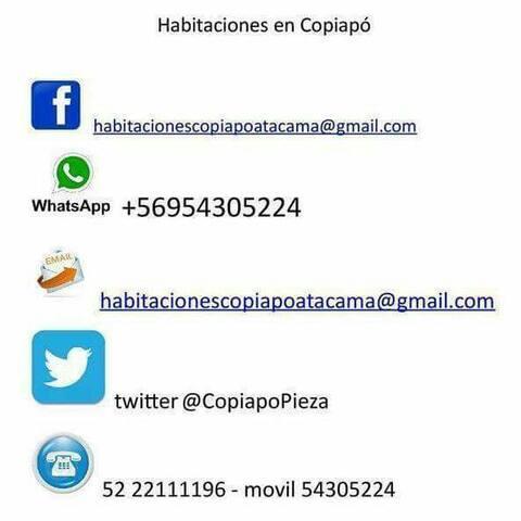 habitaciones de calidad grato ambiente - Copiapó - Huis