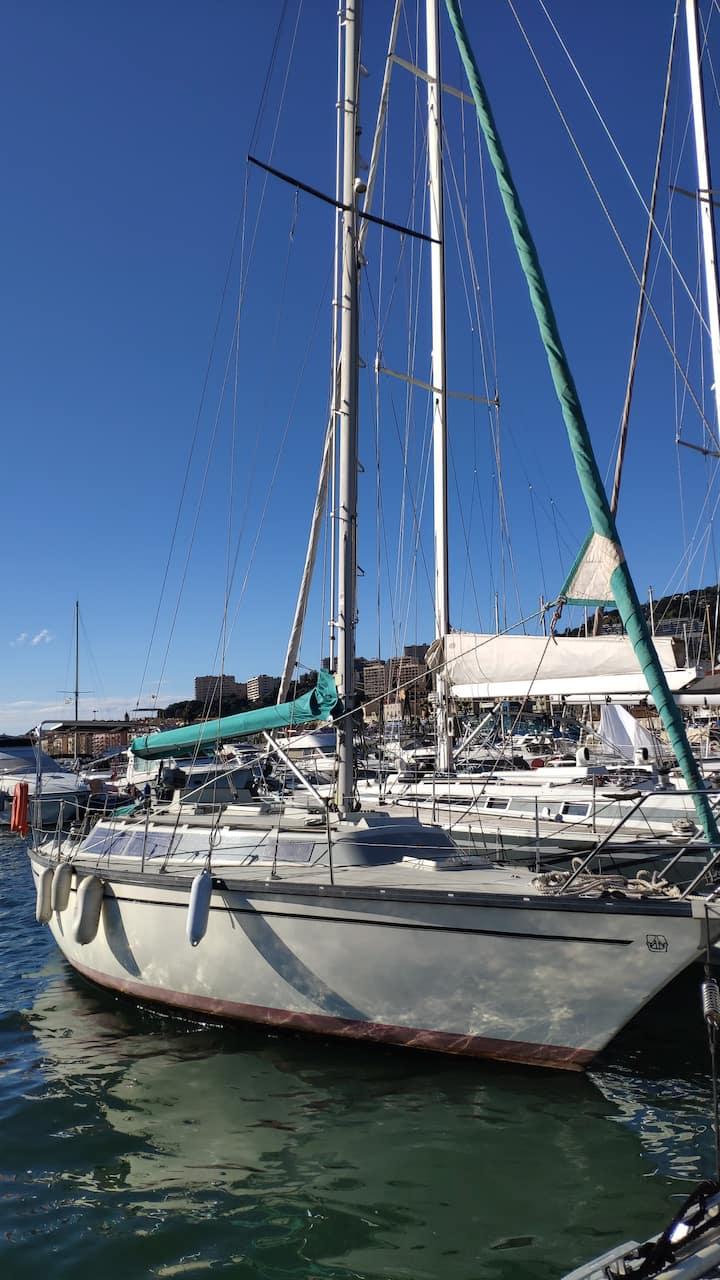 Ajaccio : voilier de 9m50