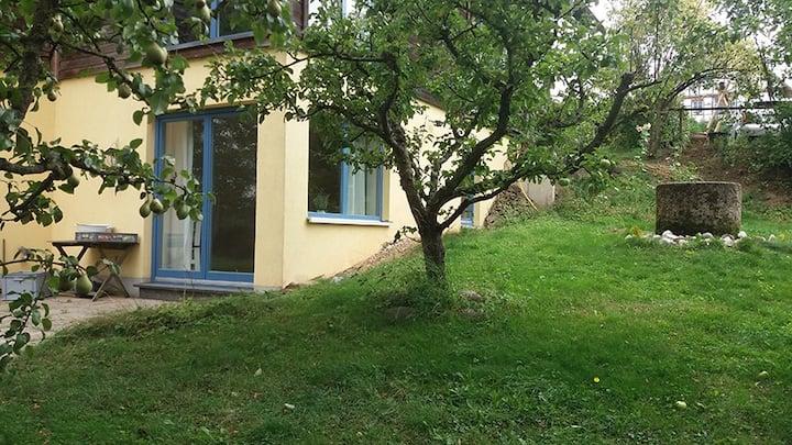 Appartement mit Gartenterrasse für Naturfreunde