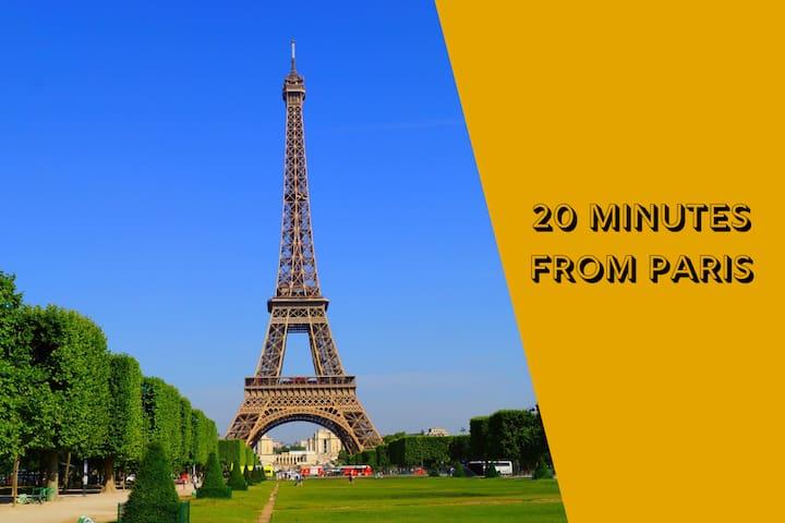 A 20 minutes de Paris