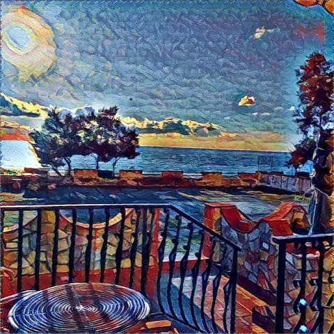 Appartamento sulla spiaggia - Longobardi Marina