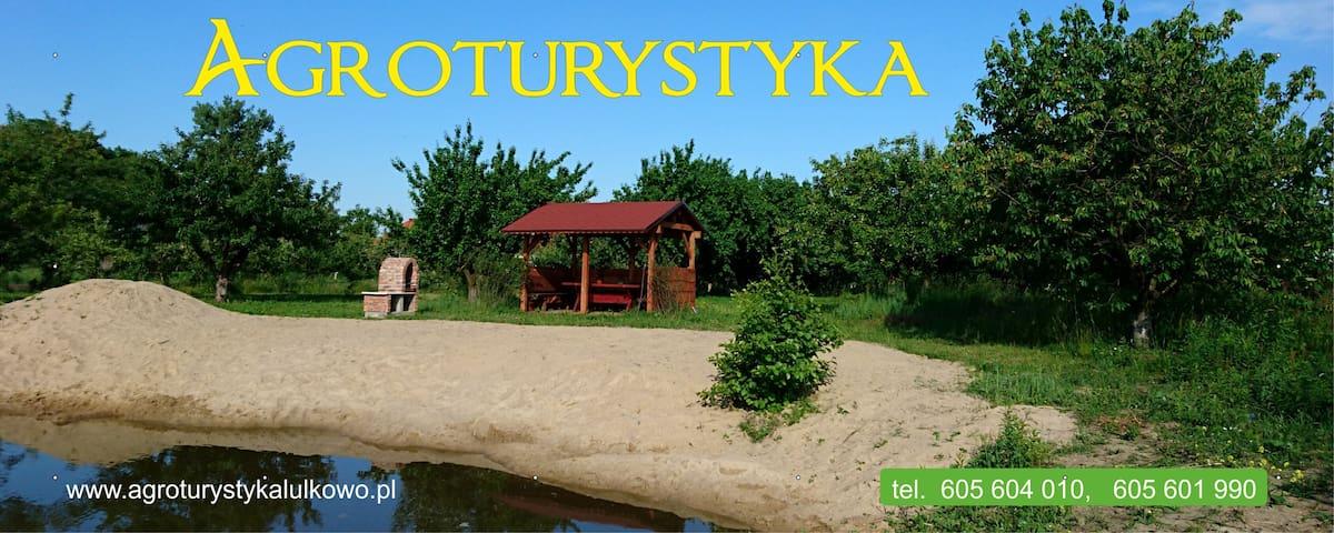 Agroturystyka Lulkowo - ŁYSOMICE k. Torunia - Huis
