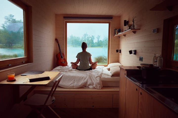 Una stanza immersa in Val Saisera - Friland