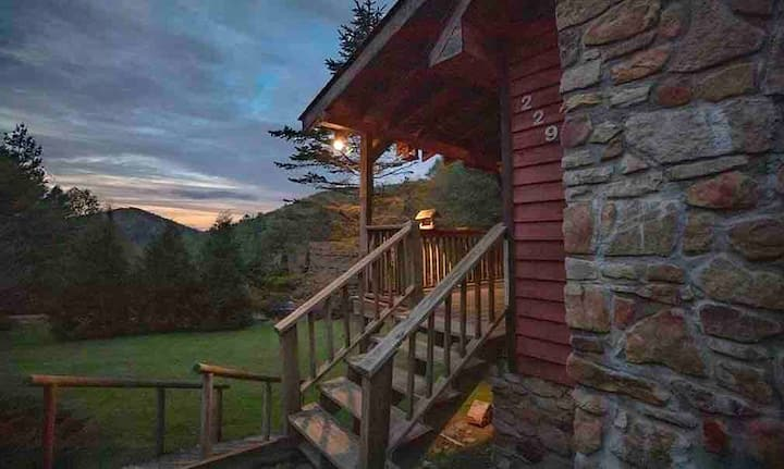 The Blowing Rock Cabin - Its the Location!