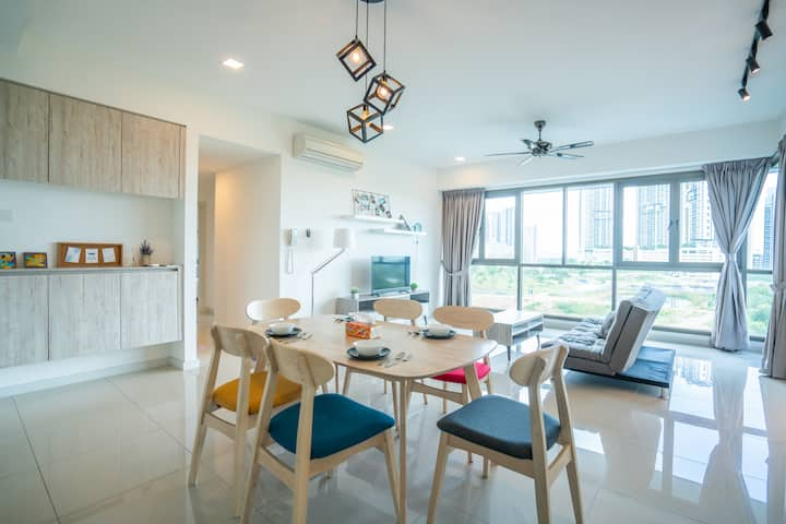 【5 mins Legoland】Iskandar Residence Family House