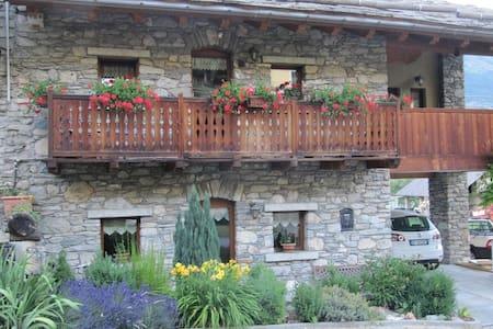 Appartamento con giardino fronte casa - Aymavilles - Huoneisto