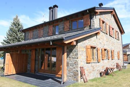 Palau, acogedora casa con jardín para 5 personas - Palau-de-Cerdagne - Casa