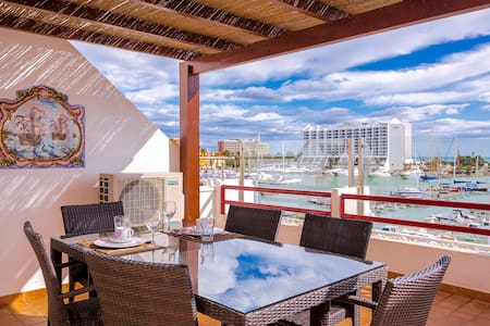 Primula 1 Bedroom Apart. facing Vilamoura Marina - Quarteira - Daire