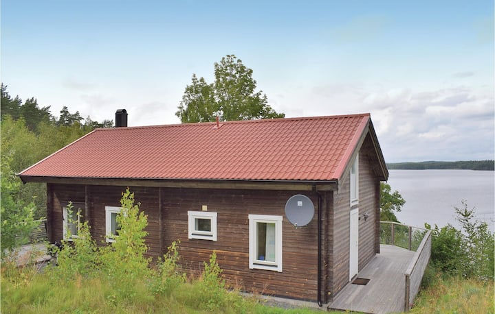 Nice home in Vetlanda with WiFi and 2 Bedrooms