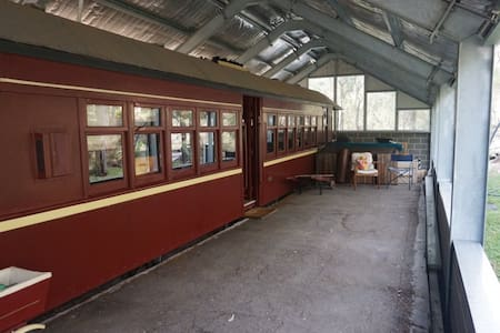 100 year old Railway Carriage - Train