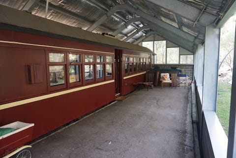 100 year old Railway Carriage