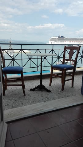 place for relax time in the balcony