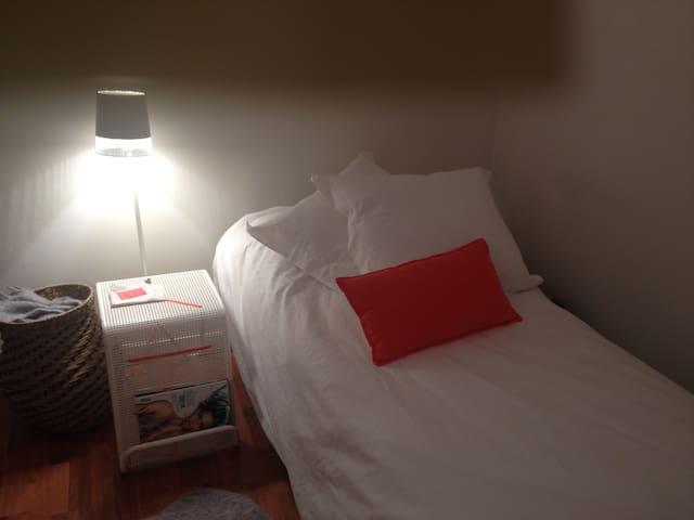 Habitación con 2camas en buena zona - Bilbao - Leilighet