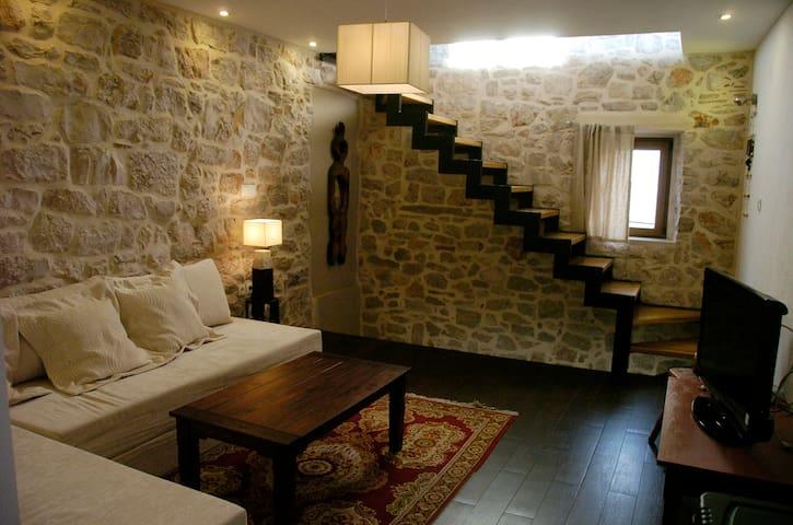 Stone house on the island Prvić