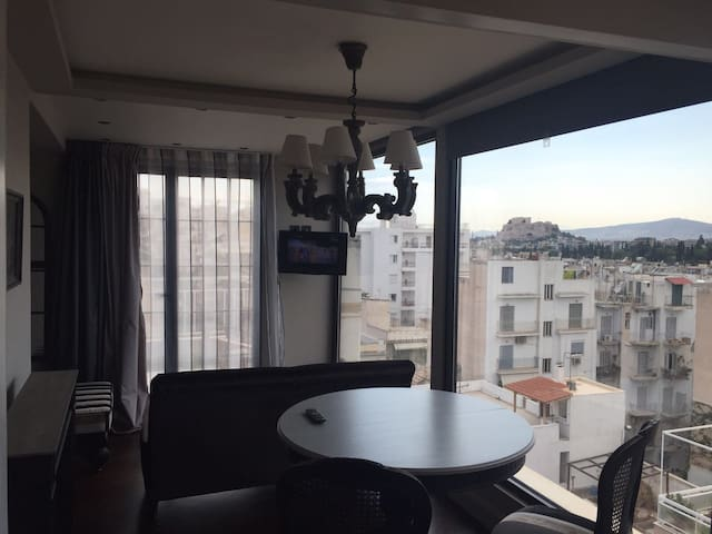 Amazing flat with Acropolis view - Athina - Appartamento