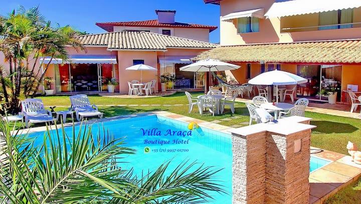 Villa Araçá Boutique Hotel - Suite Luxo 2/3 Pax