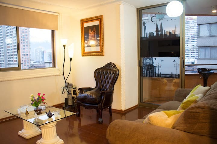 Beautiful Apt Downtown With Balcony 2BR 2BA