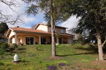 Maison avec vue sur le pilat - Saint-Maurice-sur-Dargoire - Дом
