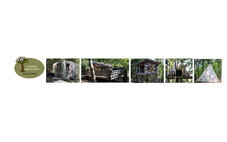 Chimo Refuges Treehouses-CITQ229541-Full Site
