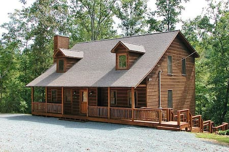 Turtle Creek Cabin Retreat - Sleeps 20 - Ellijay - Chalet