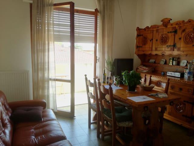 Brightless apartment near the sea!