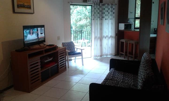 Nice tranquil apartment in Copacabana