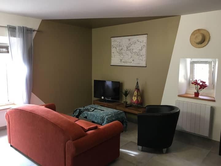 appartement agréable 44m² donnant sur rue calme
