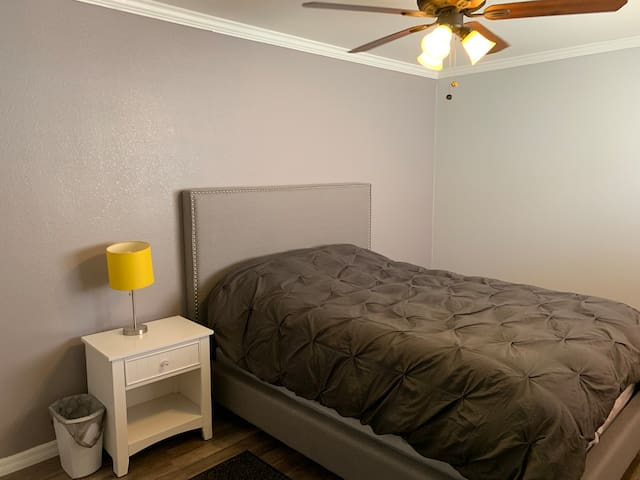 Private bedroom in new home