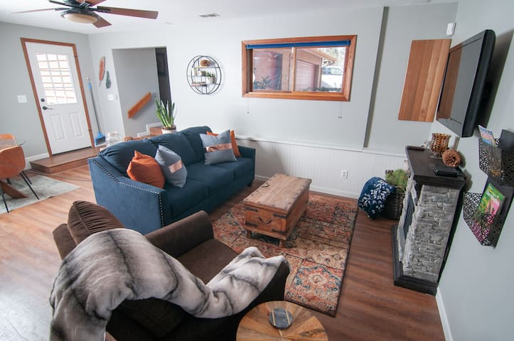 Open floor plan provides all the comforts of home.