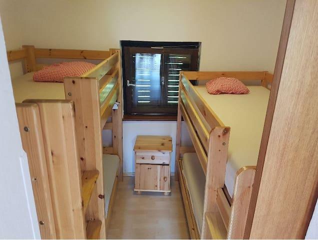 Schlafraum 2 Stockbetten