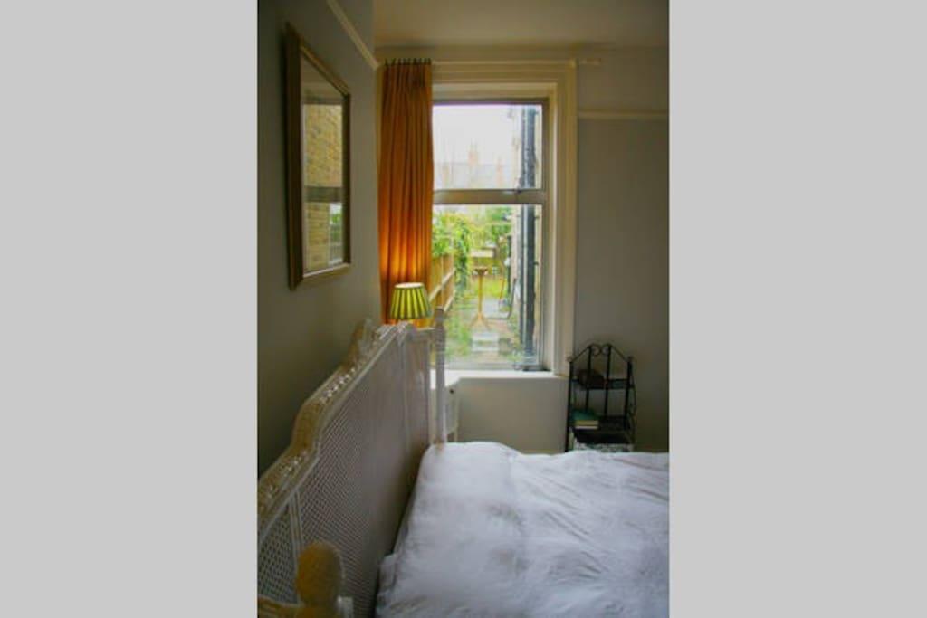 Garden view from your bedroom